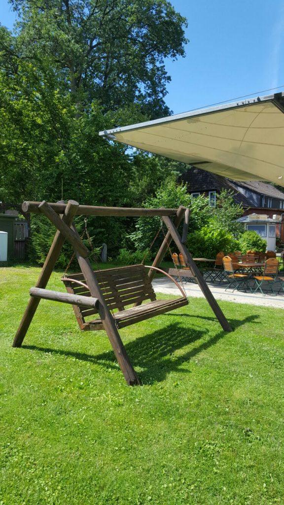 Landhotel Heidkrug Erholung Schaukel